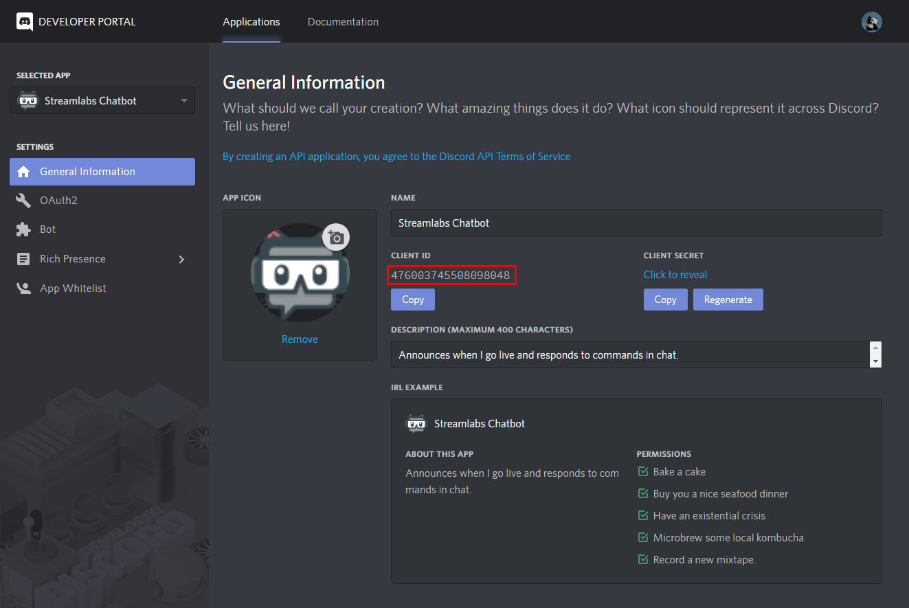 Connecting Chatbot to Discord [Desktop Chatbot]  Streamlabs