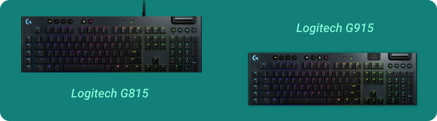 Keyboards for streaming